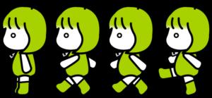 ドロイドちゃん透過png素材集09