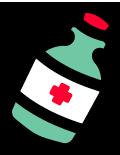ドロイドちゃん素材 薬瓶