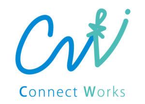 沖縄の魔除けサングワーをイメージしたロゴ