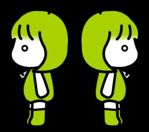 ドロイドちゃん透過png素材集07