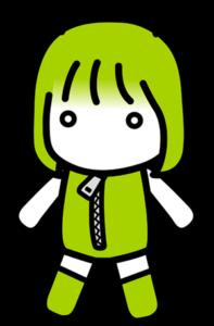androidのドロイドちゃん 基本立ちポーズ2