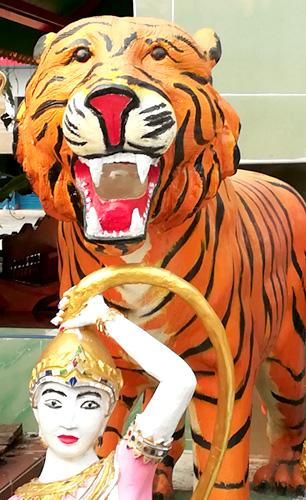 うすた京介作画の虎